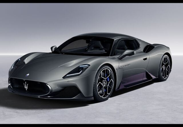 【予約】BBR 1/18 Maserati MC20 2020 Grigio Mistero(ケース付)
