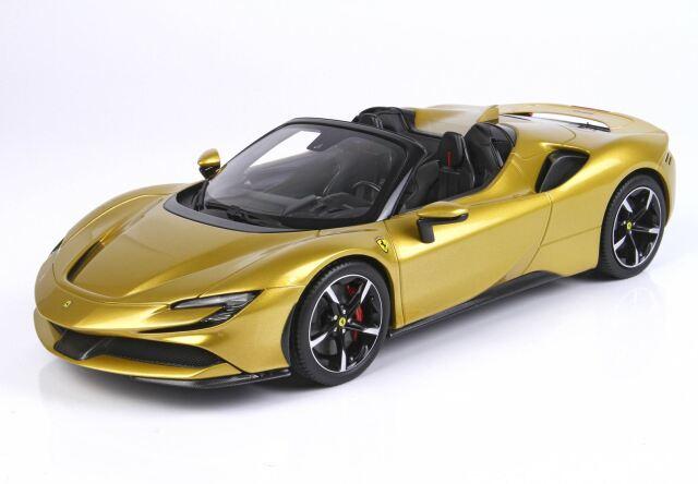 【予約】BBR 1/18 Ferrari SF90 Spider Giallo Montecarlo(ケース付)