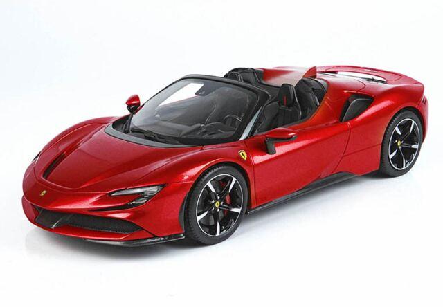【予約】BBR 1/18 Ferrari SF90 Spider Rosso Corsa 322(ケース付)