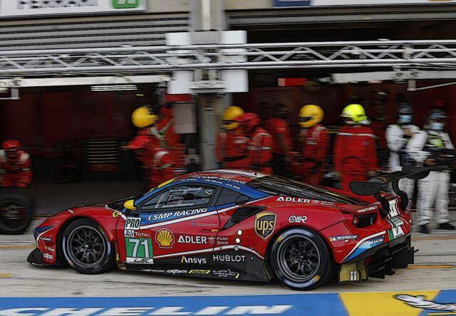 【予約】BBR 1/18 Ferrari 488 LM GTE PRO Team AF Corse 24H Le Mans 2020 #71(ケース付)