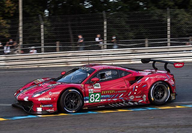 【予約】BBR 1/18 Ferrari 488 LM GTE PRO Team RISI 24H Le Mans 2020 #82(ケース付)