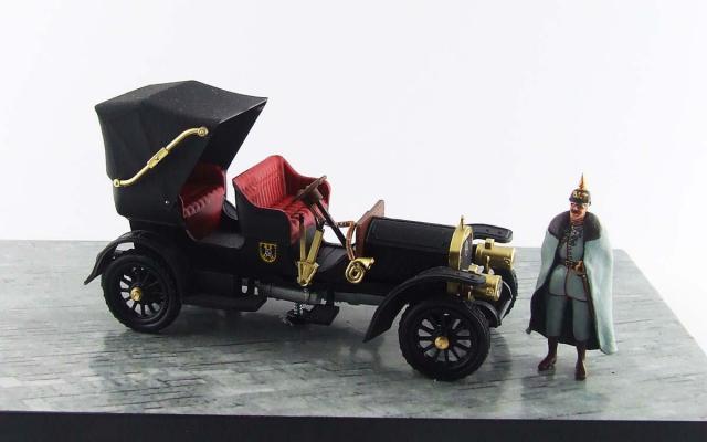 RIO 1/43 メルセデス シンプレックス 1902 皇帝専用車  皇帝フィギュア付属