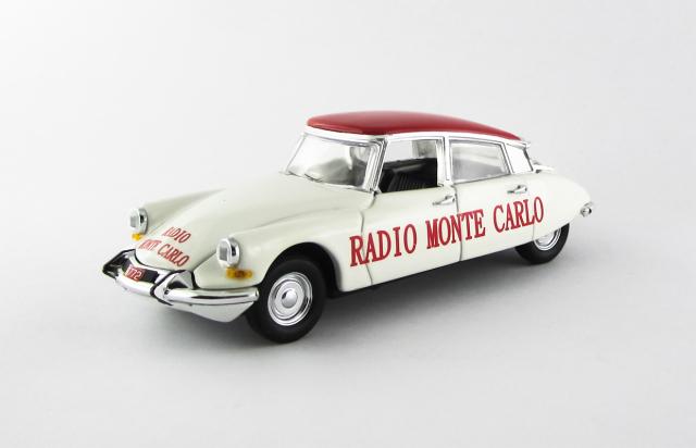 RIO 1/43 シトロエン DS 19 ラジオ モンテカルロ ツール・ド・フランス 1962