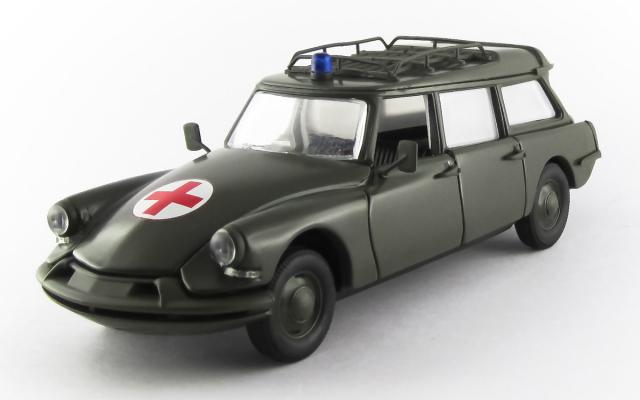 RIO 1/43 シトロエン DS ブレーク 1960 軍用救急車 モスグリーン