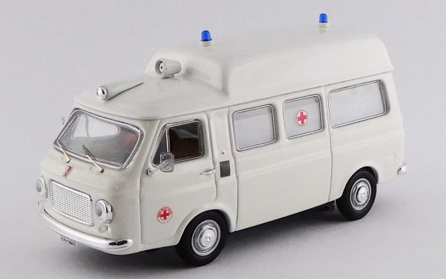 RIO 1/43 フィアット 238 救急車 1970 ハイルーフ ホワイト