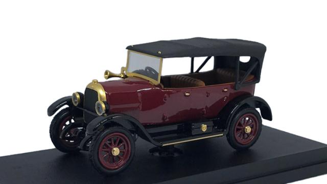 RIO 1/43 フィアット 501 スポーツ カブリオレ 1919 ボルドー ルーフ付
