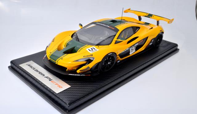 TECNOMODEL 1/18 マクラーレン P1 GTR 2015 ジュネーブ・モーターショー