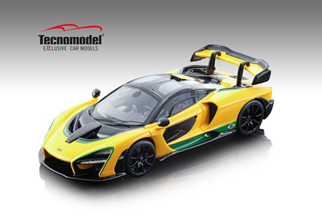 Tecnomodel 1/43 マクラーレン セナ アイルトン・セナ ブラジルカラーバージョン 2018