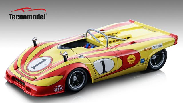 Tecnomodel 1/18 ポルシェ 917 スパイダー インターセリエ 1971 イモラ #1 Jurgen Neuhaus