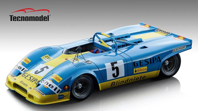 Tecnomodel 1/18 ポルシェ 917 スパイダー パリ1000km 1971 #5 Helmut Marko/Michel Weber