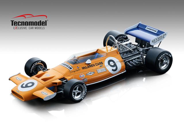 Tecnomodel 1/18 マクラーレン M19A モナコGP 1971 #9 Denny Hulme