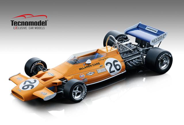 Tecnomodel 1/18 マクラーレン M19A ドイツGP 1971 #26 Denny Hulme