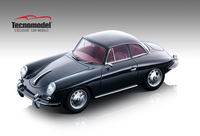 Tecnomodel 1/18 ポルシェ 356 カルマン ハードトップ 1961 グロスダークグレー