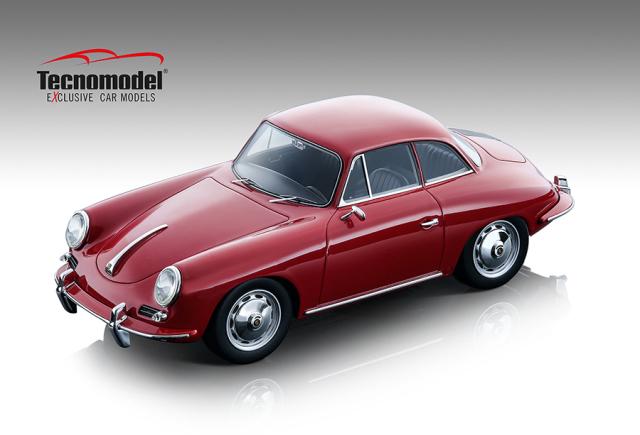 Tecnomodel 1/18 ポルシェ 356 カルマン ハードトップ 1961 グロスレッド