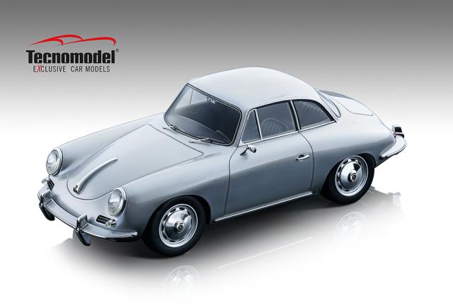 Tecnomodel 1/18 ポルシェ 356 カルマン ハードトップ 1961 メタリックシルバー