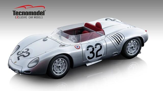 Tecnomodel 1/18 ポルシェ 718 RSK ル・マン 1959 #32 Herrmann/Maglioli