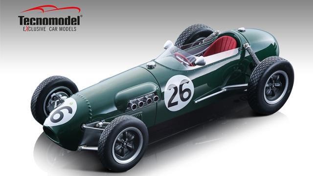 Tecnomodel 1/18 ロータス 12 モナコGP 1958 #26 Graham Hill