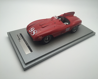 TECNOMODEL 1/18 F857 スカリエッティ ストックトンロードレース 1956 #98 McAfee