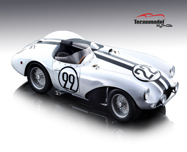 TECNOMODEL 1/18 アストンマーチン DB3 S Le Mans 1954 #22 Carroll Shelby / Paul Frere
