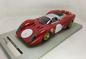 TECNOMODEL 1/18 フェラーリ 312 P クーペ モンツア テスト 1970