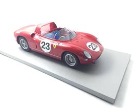 TECNOMODEL 1/18 フェラーリ 250 P ル・マン # 23 1963 Driver Surtess/ Mairesse