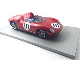 TECNOMODEL 1/18 フェラーリ 250 P ニュルブルクリンク # 111 1963 Driver Parkes/ Scarfiotti