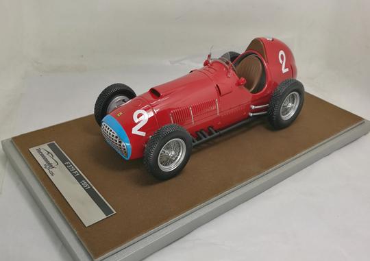 TECNOMODEL 1/18 フェラーリ 375 F1 イタリアGP 1951 優勝車 #2 A.Ascari