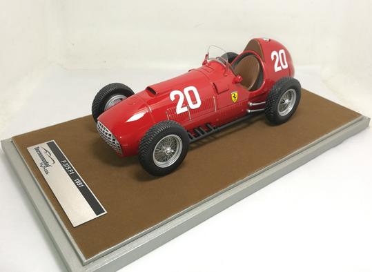 TECNOMODEL 1/18 フェラーリ 375 F1 スイスGP 1951 #20 A.Ascari