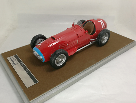TECNOMODEL 1/18 フェラーリ 375 F1 ニュルブルクリンクGP 1951 優勝車 #71 A.Ascari