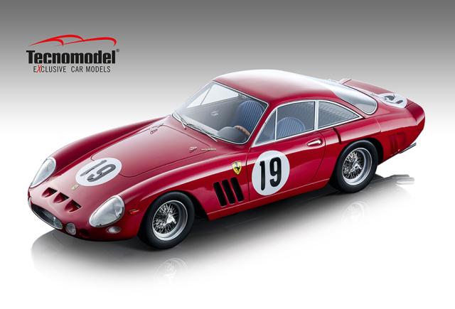 Tecnomodel 1/18 フェラーリ 330 LMB セブリング12時間 1963  #19 M.Parkes/L.Bandini