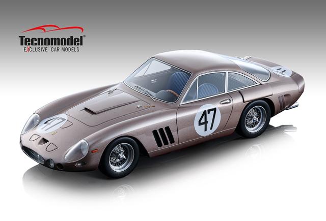 Tecnomodel 1/18 フェラーリ 330 LMB ブリッジハンプトン500km 1963 #47 D.Gurney