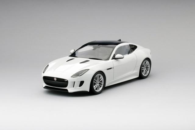 Top Speed 1/18 ジャガー Fタイプ Rクーペ ポラリスホワイト