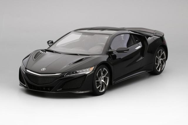 Top Speed 1/18 Acura NSX ベルリナ ブラック (LHD)