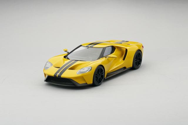 Top Speed 1/18 フォードGT 2015 ロサンゼルスモーターショー トリプルイエロー