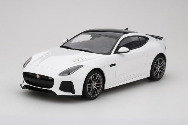Top Speed 1/18 ジャガー F-タイプ SVR グレイシャー ホワイト