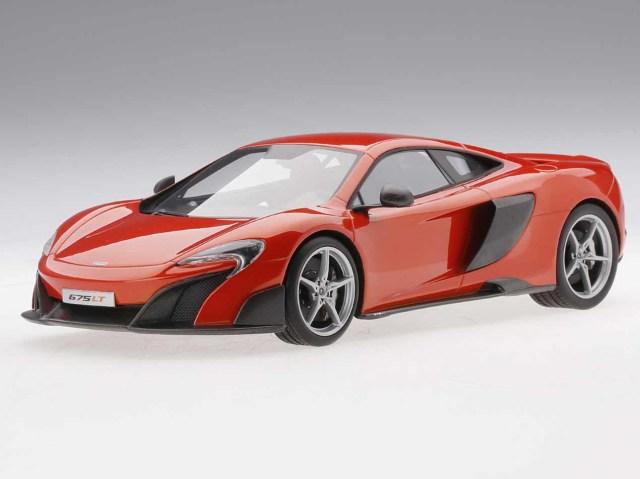 Top Speed 1/18 マクラーレン 675LT (デルタレッド)