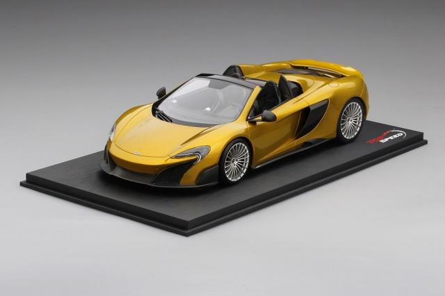 Top Speed 1/18 マクラーレン 675LT スパイダー ソーリス