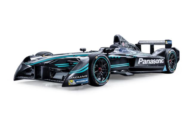 Top Speed 1/18 フォーミュラーE 2016 パナソニック ジャガーレーシング #20 Mitch Evans