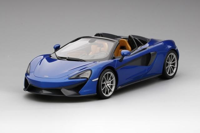 Top Speed 1/18 マクラーレン 570S スパイダー アンタレス ブルー