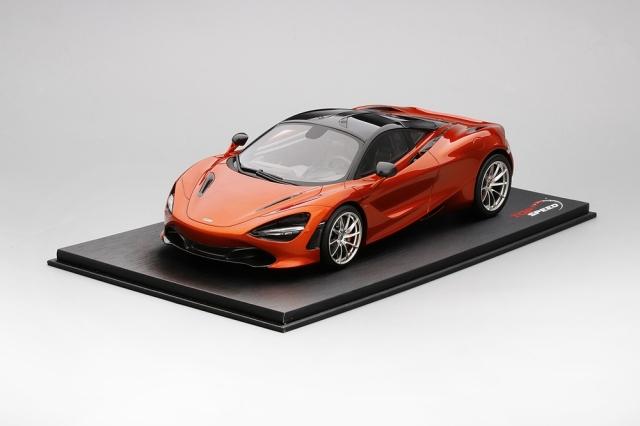 Top Speed 1/18 マクラーレン 720S  アゾレス オレンジ