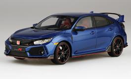 Top Speed 1/18 Honda シビック Type R ブリリアントスポーティブルー・メタリック (*左ハンドル)