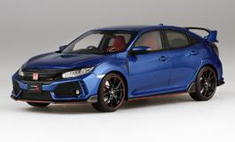 Top Speed 1/18 Honda シビック Type R ブリリアントスポーティブルー・メタリック (*右ハンドル)