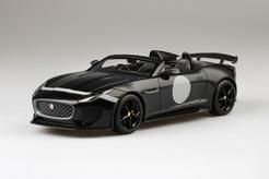 Top Speed 1/18 ジャガー F-Type Project 7 ブラック