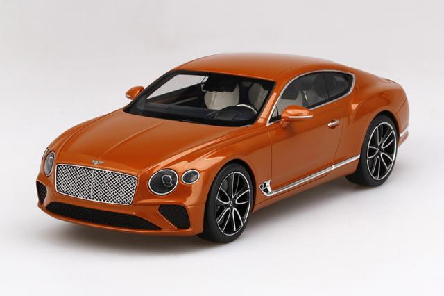 Top Speed 1/18 ベントレー ニュー コンチネンタル GT オレンジ フレイム
