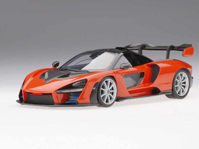 Top Speed 1/18 マクラーレン セナ (ミラ オレンジ)