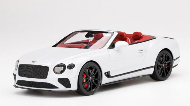 Top Speed 1/18 ベントレー コンチネンタル GT コンバーチブル アイス