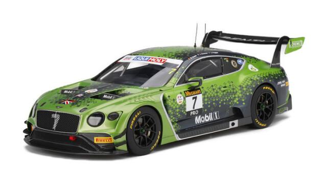 Top Speed 1/18 ベントレー コンチネンタル GT3 リッキー-モリーバザースト12時間 2020 優勝車 #7 ベントレーチームMスポーツ
