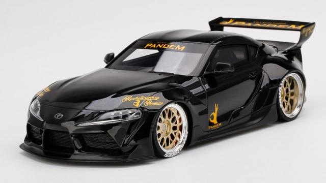 Top Speed 1/18 Pandem GR スープラ V1.0 ブラック