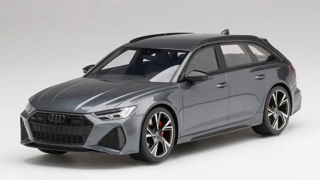 Top Speed 1/18 アウディ RS 6 アバント カーボンブラック デイトナグレー