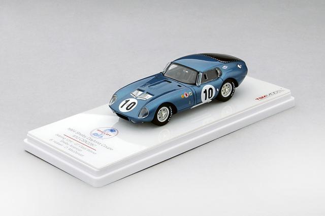 TSM 1/43 シェルビー デイトナ クーペ  CSX2287 #10 1964 セブリング12h  GTクラス 優勝車 B・ホルバート/D・マクドナルド